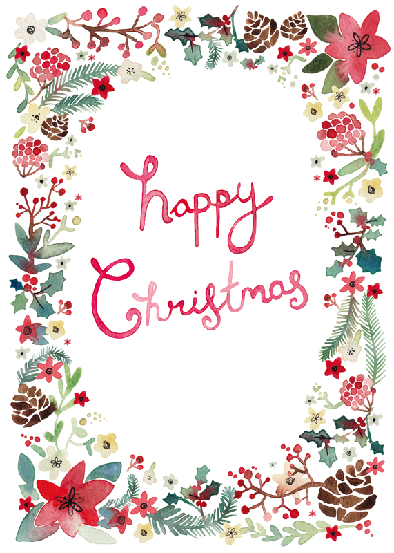 Greeting Cards - Christmas Cards - Felicity French ...